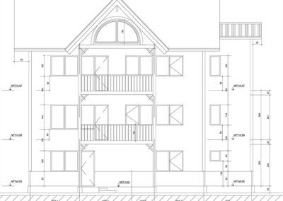 Arbet Ingeniería & Construcción. Cálculo estructural Casa Fischer, Puerto Varas.